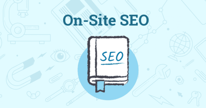 on site seo company